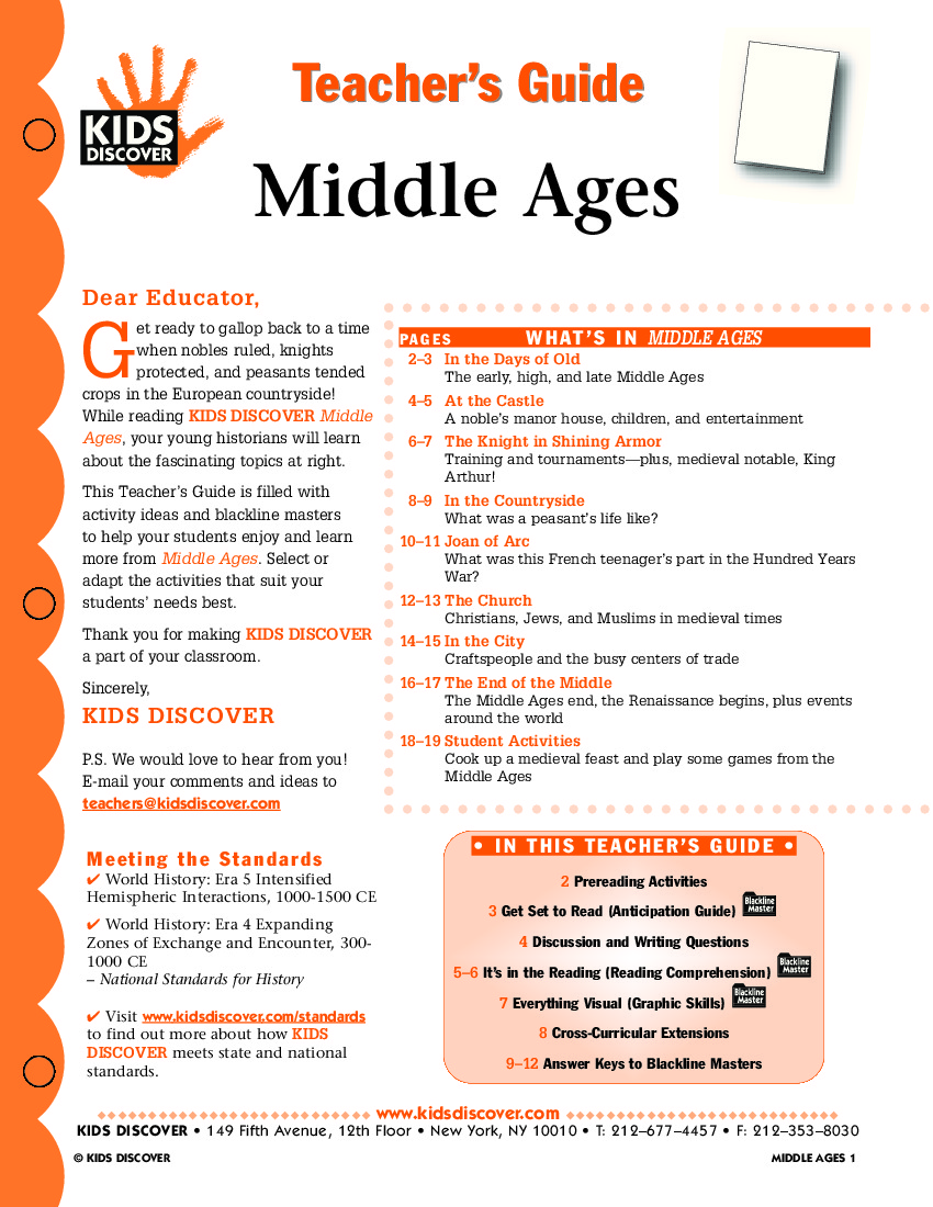 Middle Ages - Kids Discover