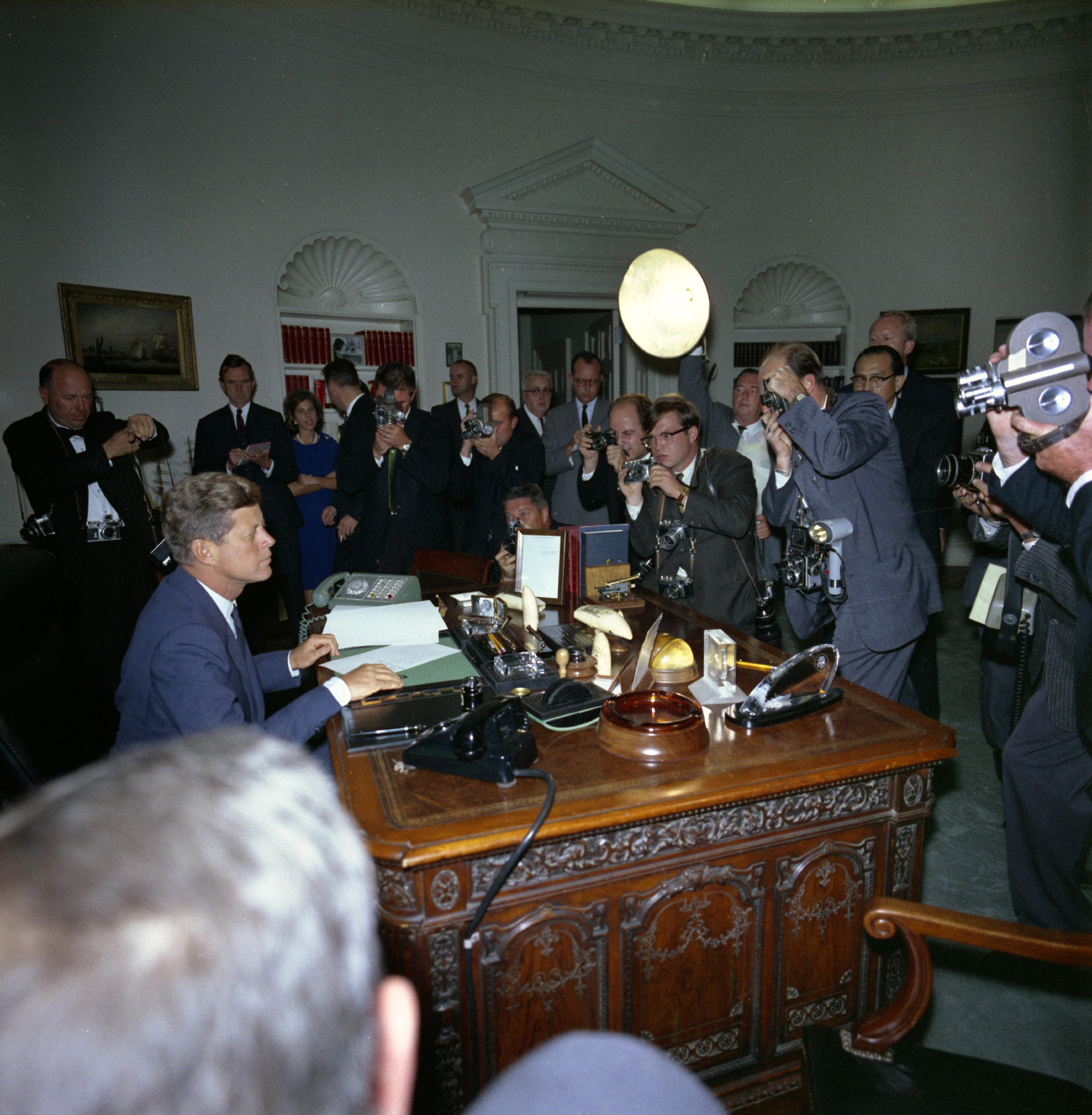 6. John F  Kennedy   Kids Discover